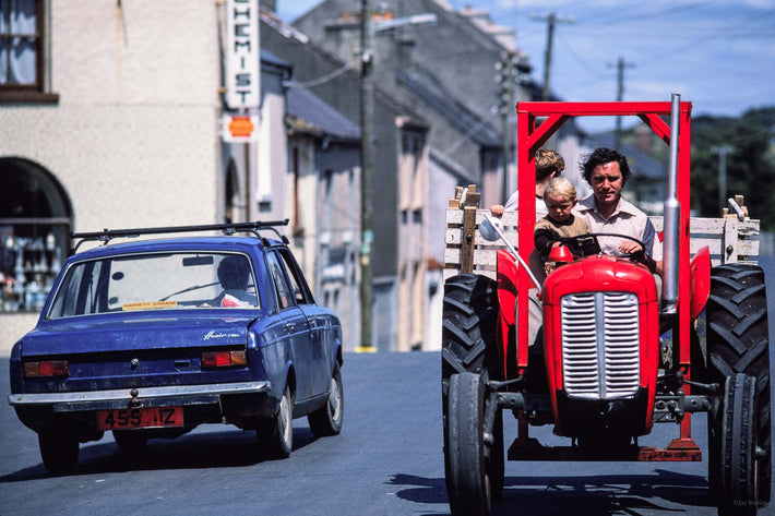 Red Tractor, Dad and Kid, Ireland
