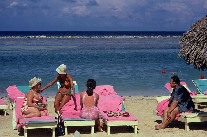 Pink at Beach, Jamaica