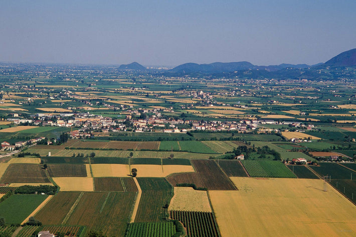 Wide Shot of Farmland, Vicenza