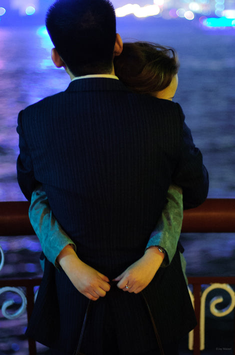 Couple Embracing, Shanghai