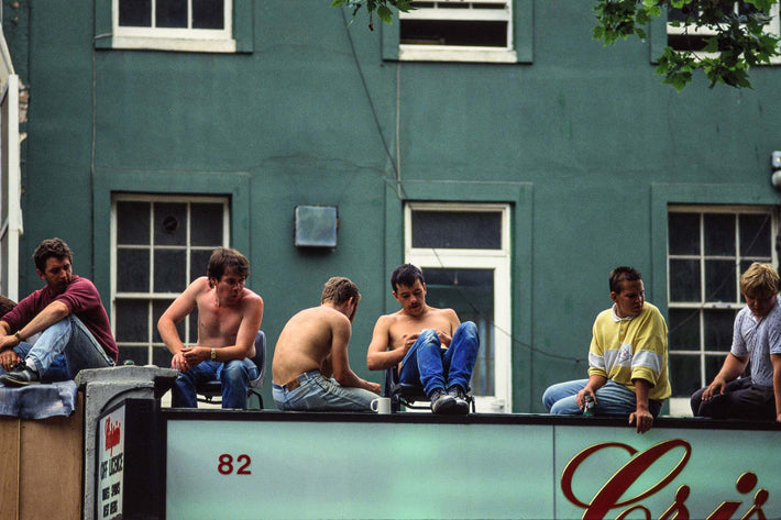 Workers Relaxing, London