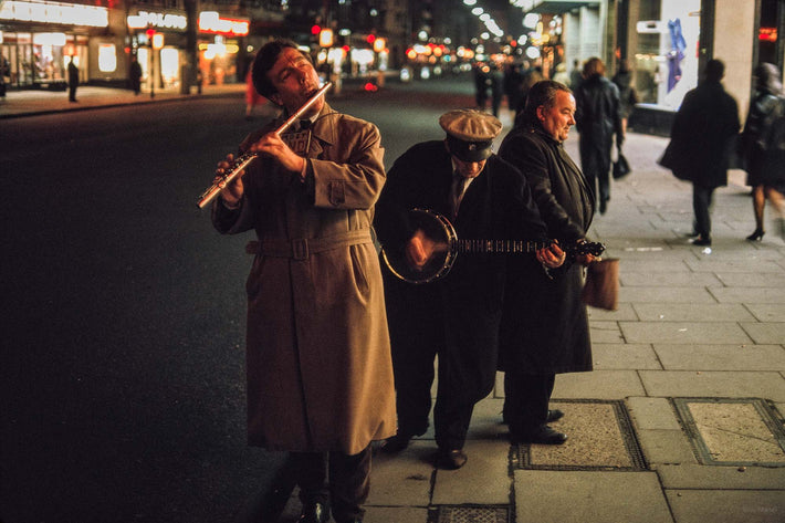 Three Musicians, London