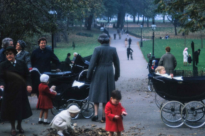 Nannies and Kids in Park, London