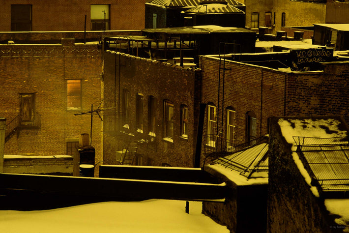 Rooftops and Snow