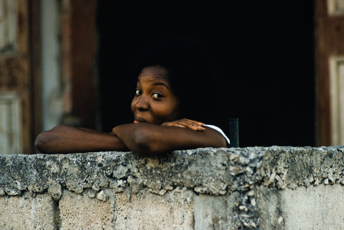 Woman with Crossed Arms, Haiti