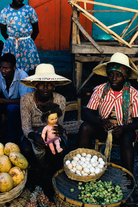 Woman with Doll, Haiti