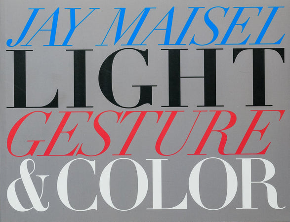 Light Gesture and Color (Signed by Jay Maisel)