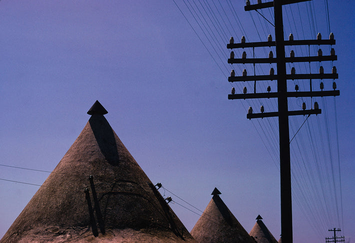 Cones and Powerlines, Sudan
