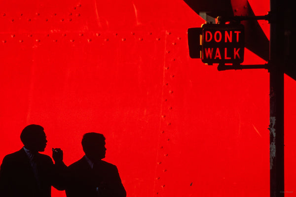 Don't Walk, Red, NYC