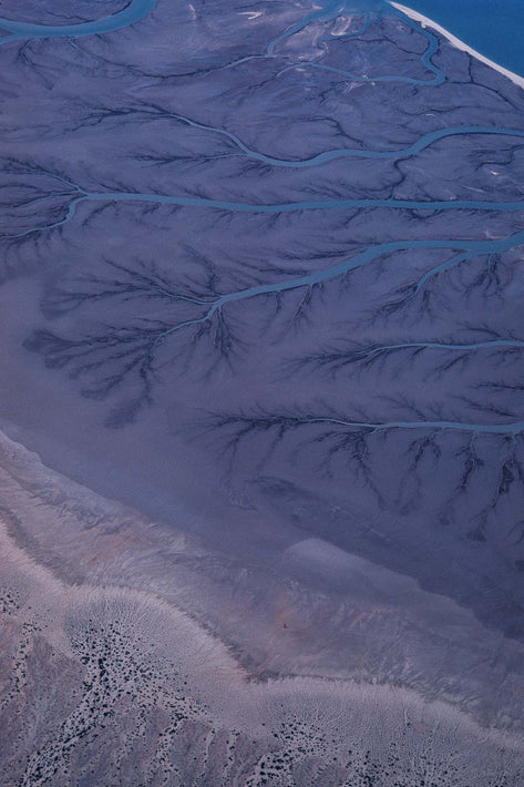 Aerial of Mountains, Baja