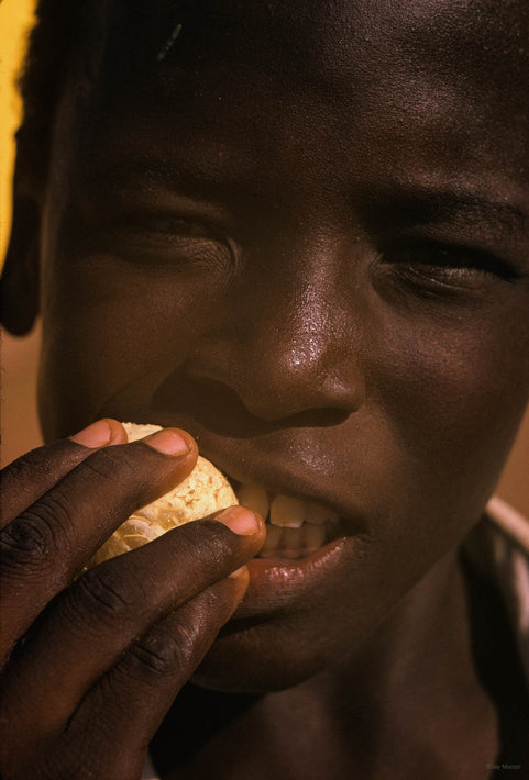 Close-up of Boy with Orange, Khartoum