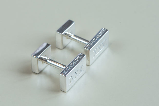 Sterling Silver Hallmarked Cufflinks