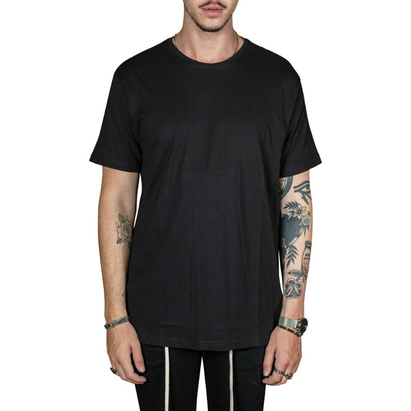 Long Scoop Tee by Preview