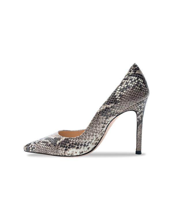 ARIA in Taupe Python by Black Suede Studio
