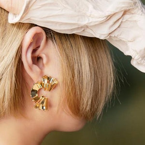 D'or earrings by WMWATCHME - 8LACK OFFICIAL