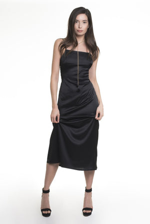 Silk Slip Dress by Meche The Label - 8LACK OFFICIAL