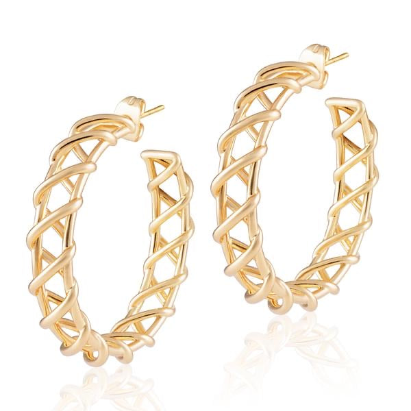 Asher hoops by Sahira