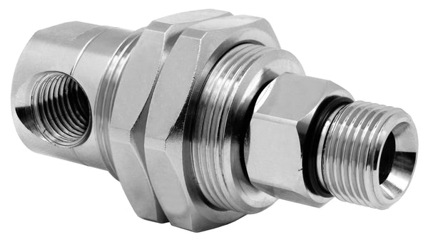 "Mosmatic rotary unions DGG swivel 90 degrees G1 1/4""NPTF G2 1/4""NPTM 33.351"