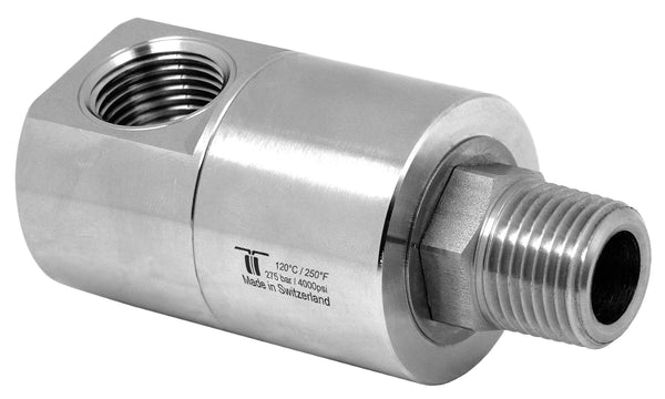 "Mosmatic rotary unions DGE swivel 90 degrees G1 3/4""NPTF G2 3/4""NPTM NW 3/4in 34.874"