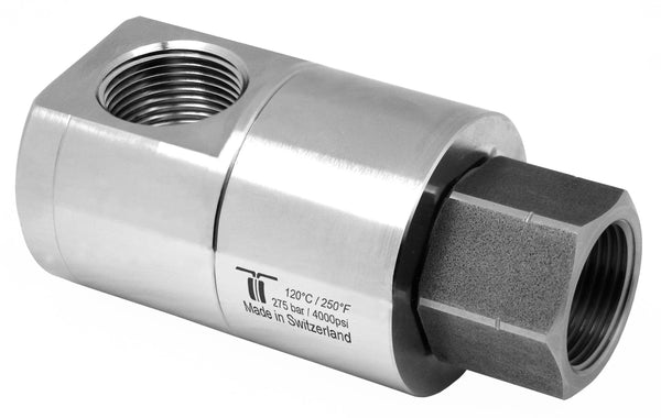 "Mosmatic rotary unions DGE swivel 90 degrees G1 1""NPTF G2 1""NPTF NW 1in 34.885"