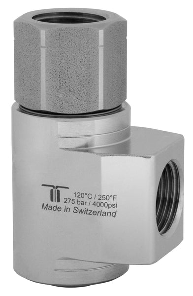 "Mosmatic rotary unions WDCL swivel with radial ball bearings G1 1/2"" NPTF G2 1/2""NPTF 43.364"