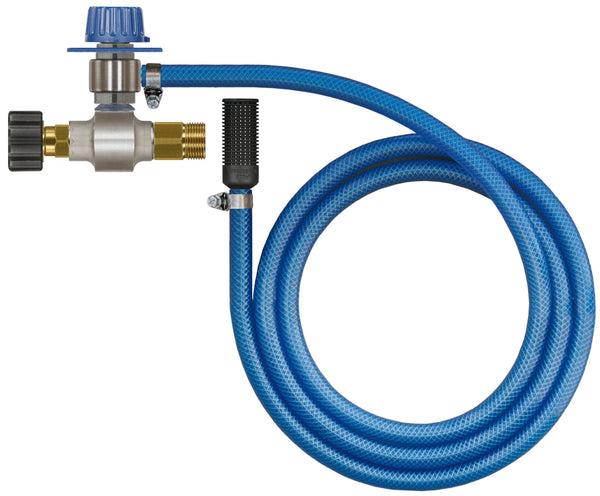 Mosmatic foam products chemical regulator with metering valve 6ft 7in 90.087