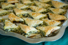 Spanakopita - Greek Spinach Pies