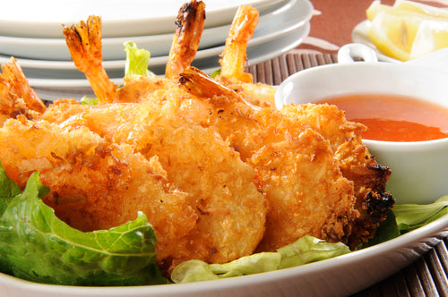 Coconut Breaded Shrimp