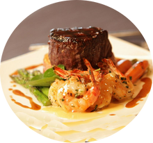 Filet Mignon & Shrimp Package