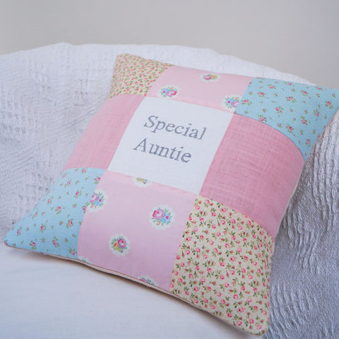 Special Auntie Pastel Cushion