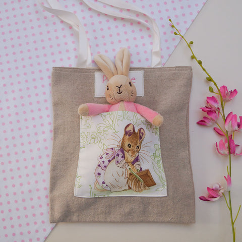 Beatrix Potter© Personalised Linen Bag