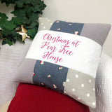 Robin Christmas Cushion