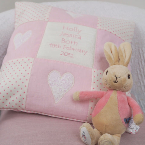 Baby Cushion Pink