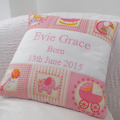 Baby Celebration Cushion