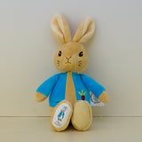 Peter Rabbit© Alphabet Cushion Gingham Blue