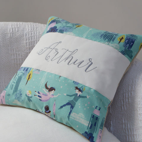 Peter Pan 'You Can Fly' Cushion