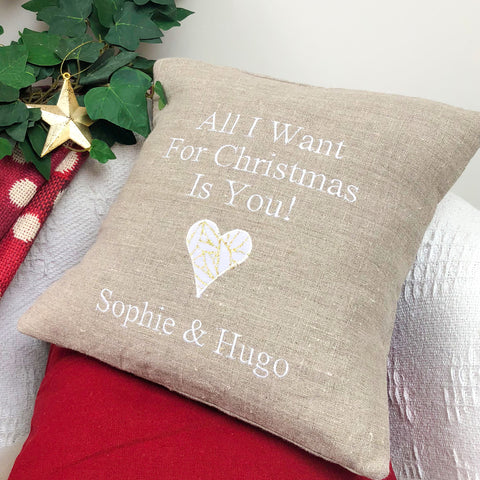 'All I Want For Christmas' Cushion