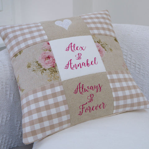 'Always & Forever' Cushion