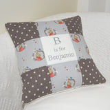 Benjamin Bunny Alphabet Cushion