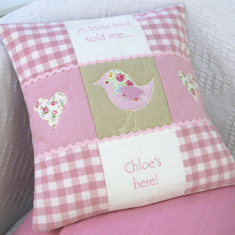 'A Little Bird' Cushion