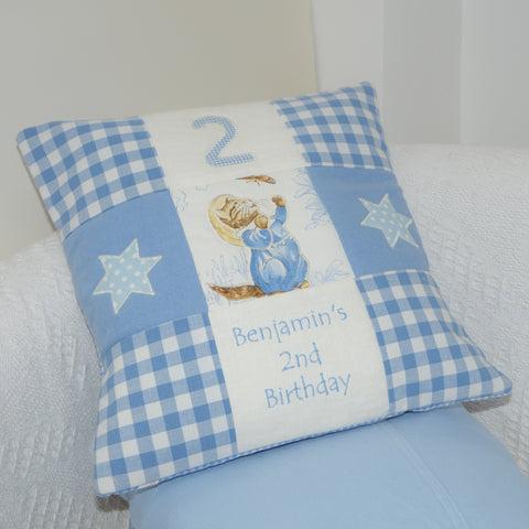 Beatrix Potter© Birthday Cushion