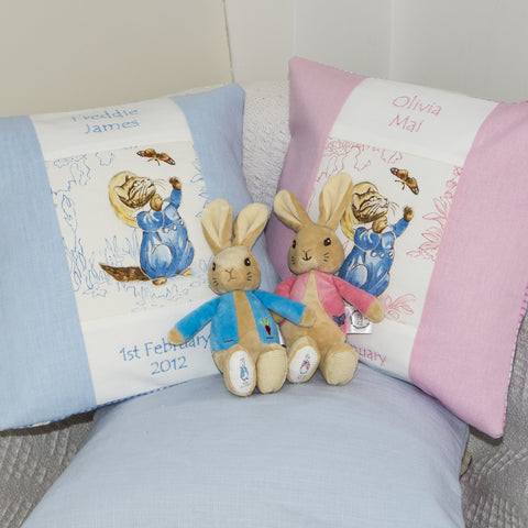Beatrix Potter© Tom Kitten Cushion