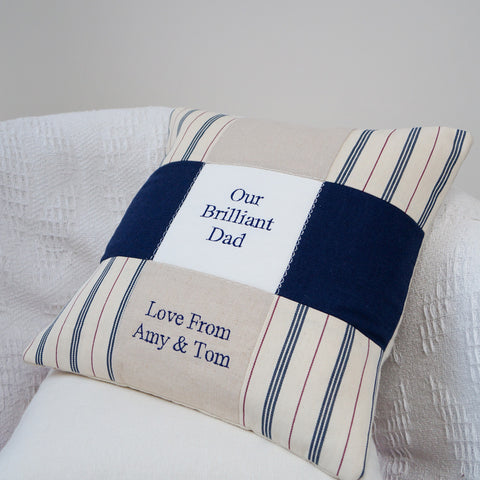'Brilliant Dad' Cushion