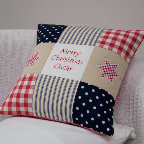 Merry Christmas Cushion - Oscar
