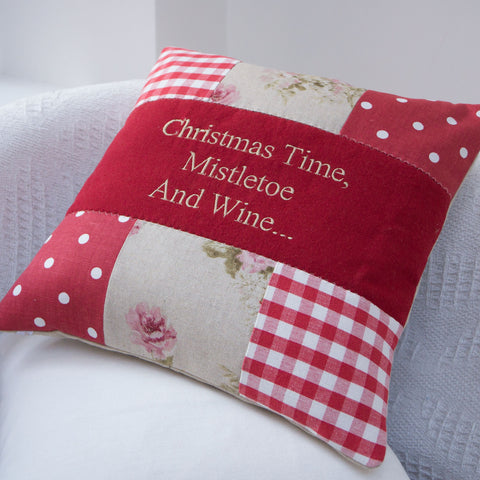 'Christmas Time' Cushion