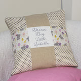 'Dream Big' Cushion Blue