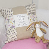 'Dream Big' Cushion Pink