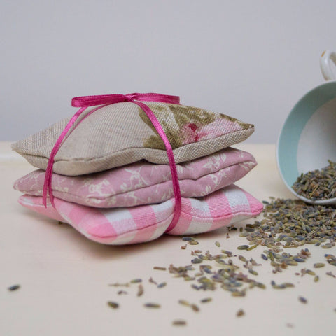 Floral Lavender Bundle Natural & Pink