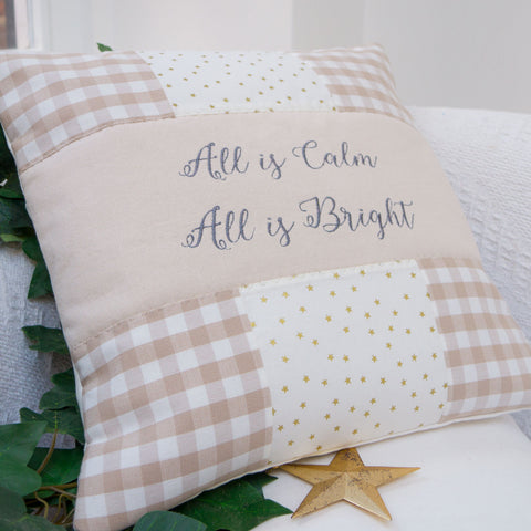'All Is Bright' Cushion