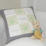 Grey and Mint Memory Cushion